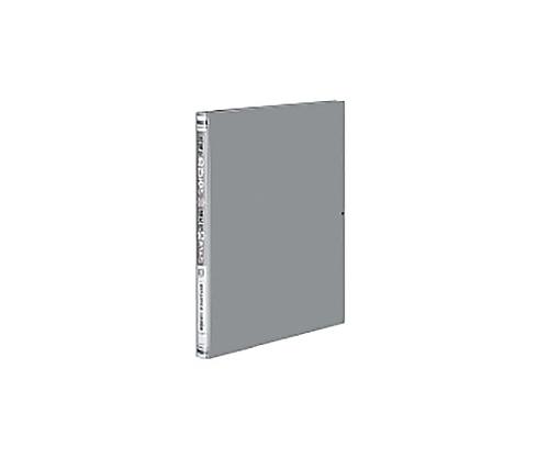ガバットファイル<PP>(活用タイプ) A4縦 1~100ミリとじ 2穴 グレー フ-P90NM