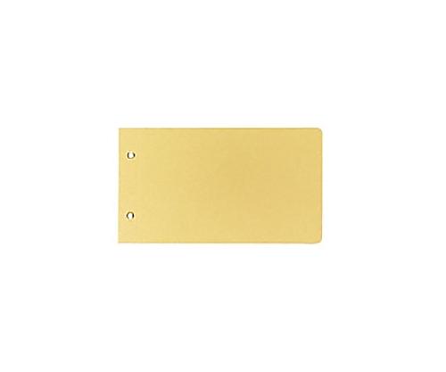 [取扱停止]綴込表紙C 振替伝票サイズ 2穴 クラフトタイプ ツ-76