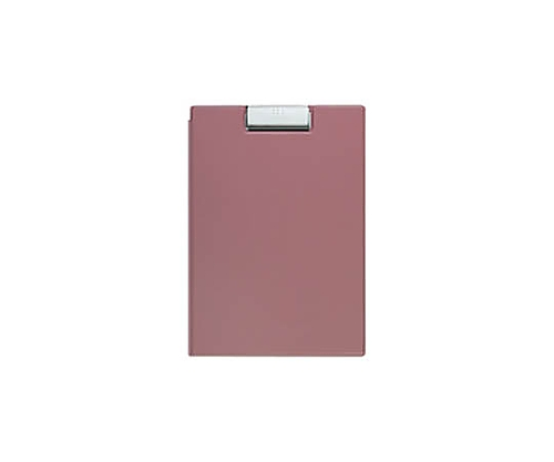 クリップホルダー A4 (カバー付き用箋挟)ピンク ヨハ-50NP