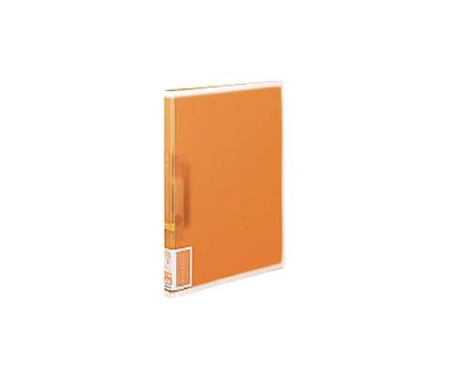 [取扱停止]レバーファイル<コロレー> A4縦12ミリ120枚収容 オレンジ F-VFF107YR