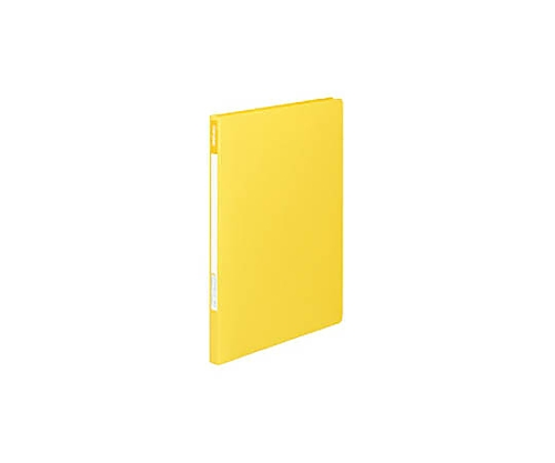 レバーファイル12(Z式) A4縦 12ミリとじ 黄 フ-C320-6
