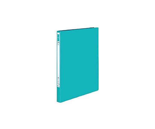 レバーファイル<EZe> A4縦 12ミリとじ 青緑 フ-U330BG
