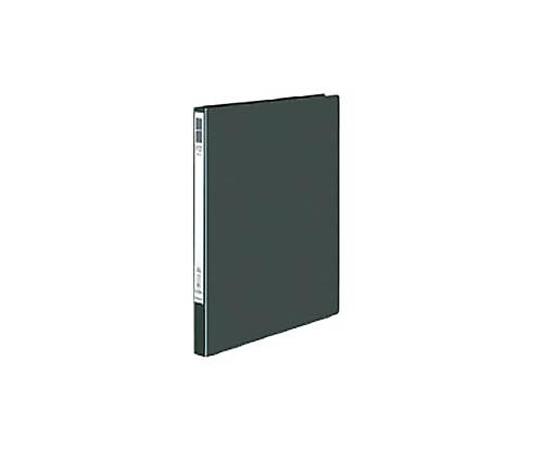 レバーファイル<Eze> ダークグレー 再生PP表紙A4縦12ミリ120枚収容 フ-U330DM