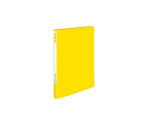 レバーファイル<Eze> 黄 再生PP表紙A4縦12ミリ120枚収容 フ-U330Y