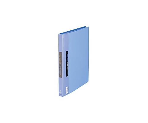 カラーベース差替式 青 A4縦 背幅25mm 30穴 139アオ