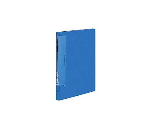 クリヤーブック(ウェーブカットポケット) A4縦 替紙式12枚ポケット30穴 青 ラ-T710B