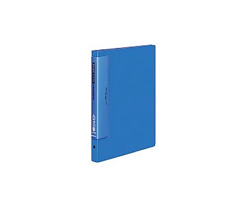 クリヤーブック(ウェーブカットポケット) A4縦 替紙式17枚ポケット30穴 青 ラ-T720B