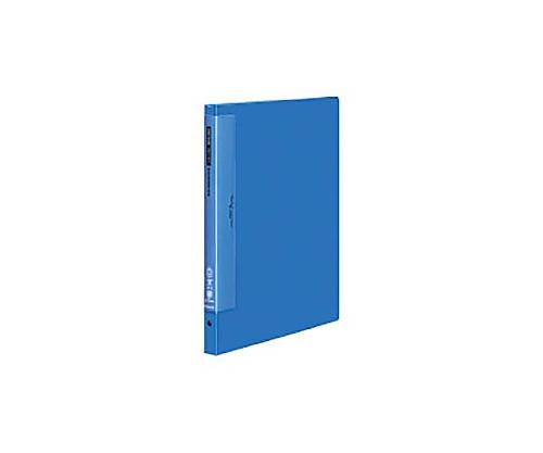 クリヤーブック(ウェーブカットポケット) B4縦 替紙式17枚ポケット36穴 青 ラ-T724B