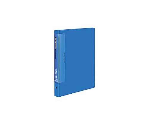 クリヤーブック(ウェーブカットポケット) A4縦 替紙式25枚ポケット30穴 青 ラ-T730B