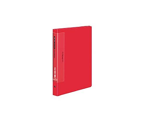 クリヤーブック(ウェーブカットポケット) A4縦 替紙式25枚ポケット30穴 赤 ラ-T730R