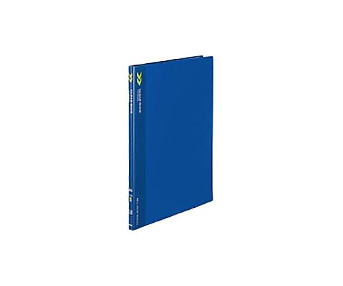 クリヤーブック<K2>(固定式) A4縦 10ポケット 固定式 青 K2ラ-K10B