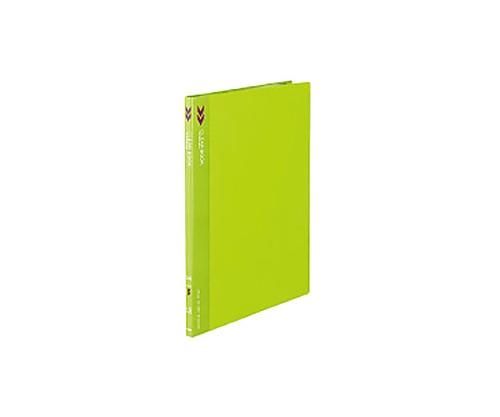 クリヤーブック<K2>(固定式) A4縦 10ポケット 固定式 黄緑 K2ラ-K10YG
