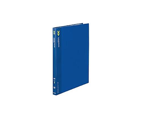 クリヤーブック<K2>(固定式) A4縦 20ポケット 固定式 青 K2ラ-K20B