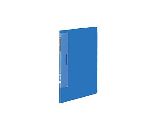 クリヤーブック(ウェーブカットポケット) A4縦 固定式10枚ポケット 青 ラ-T550B
