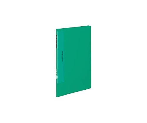クリヤーブック(ウェーブカットポケット) A4縦 固定式10枚ポケット 緑 ラ-T550G