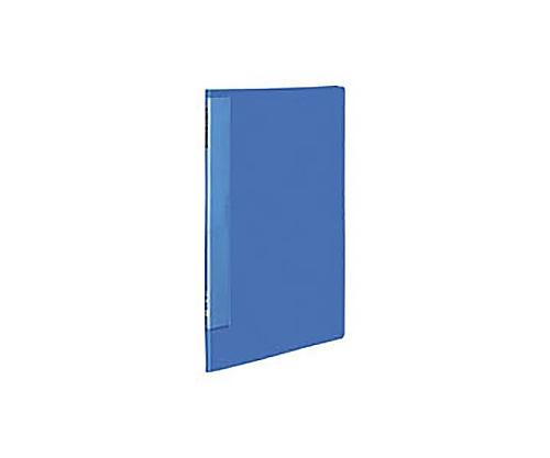 クリヤーブック(ウェーブカットポケット) A3縦 固定式10枚ポケット 青 ラ-T553B