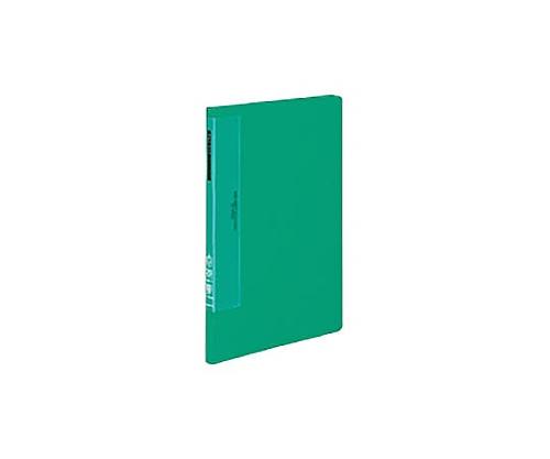 クリヤーブック(ウェーブカットポケット) A4縦 固定式20枚ポケット 緑 ラ-T560G