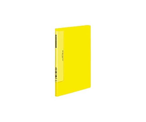クリヤーブック(ウェーブカットポケット) A4縦 固定式20枚ポケット 黄 ラ-T560Y