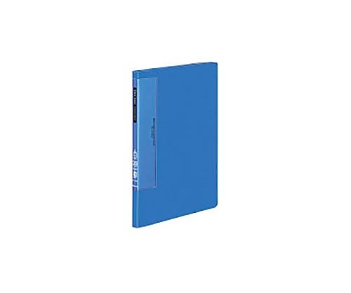クリヤーブック(ウェーブカットポケット) B5縦 固定式20枚ポケット 青 ラ-T561B