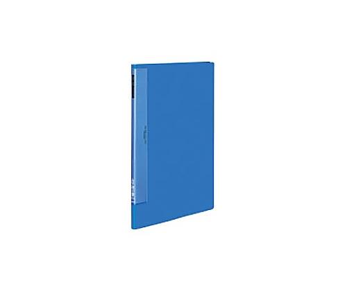 クリヤーブック(ウェーブカットポケット) A3縦 固定式20枚ポケット 青 ラ-T563B