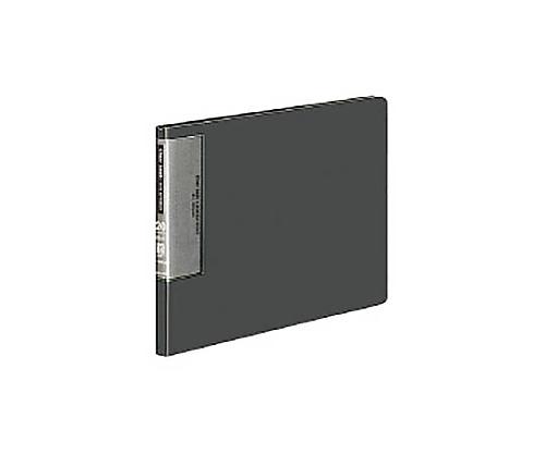 [取扱停止]クリヤーブック(ウェーブカットポケット) B5横 固定式20枚ポケット 濃灰 ラ-T566DM