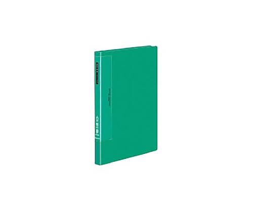 クリヤーブック(ウェーブカットポケット) A4縦 固定式40枚ポケット 緑 ラ-T570G