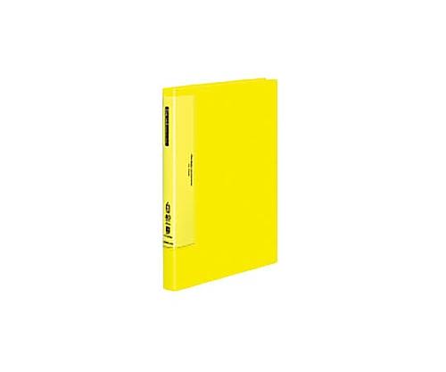 クリヤーブック(ウェーブカットポケット) A4縦 固定式40枚ポケット 黄 ラ-T570Y
