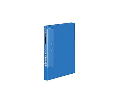 クリヤーブック(ウェーブカットポケット) B5縦 固定式40枚ポケット 青 ラ-T571B