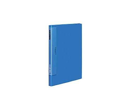 クリヤーブック(ウェーブカットポケット) B4縦 固定式40枚ポケット 青 ラ-T574B