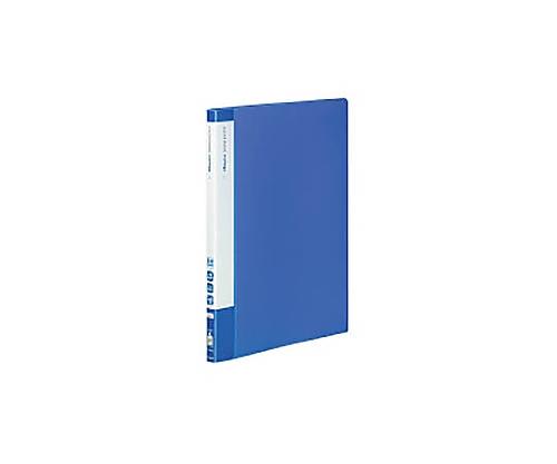[取扱停止]クリヤーブック(エコロジー・固定式) A4縦 20枚ポケット 青 ラ-EC560B