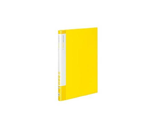 [取扱停止]クリヤーブック(エコロジー・固定式) A4縦 20枚ポケット 黄 ラ-EC560Y