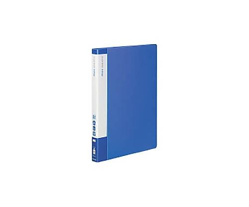 [取扱停止]クリヤーブック(エコロジー・固定式) A4縦 40枚ポケット 青 ラ-EC570B