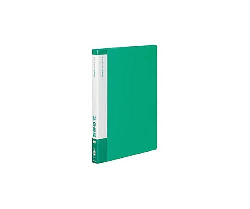 [取扱停止]クリヤーブック(エコロジー・固定式) A4縦 40枚ポケット 緑 ラ-EC570G
