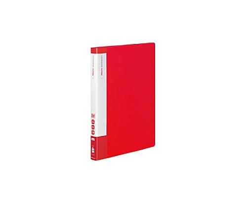 [取扱停止]クリヤーブック(エコロジー・固定式) A4縦 40枚ポケット 赤 ラ-EC570R