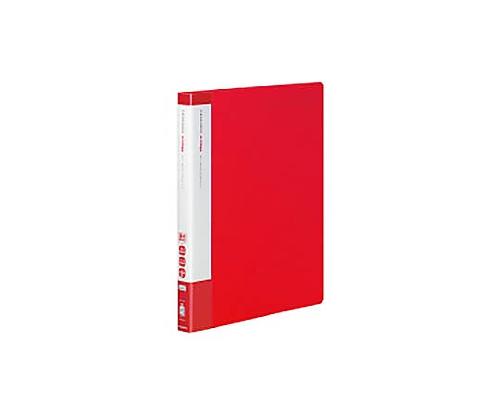 [取扱停止]クリヤーブック(エコロジー・替紙式) A4縦 17枚ポケット30穴 赤 ラ-EC720R