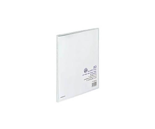 クリヤーブック<キャリーオール>固定式 A4ワイド 20枚ポケット 透明 ラ-3T