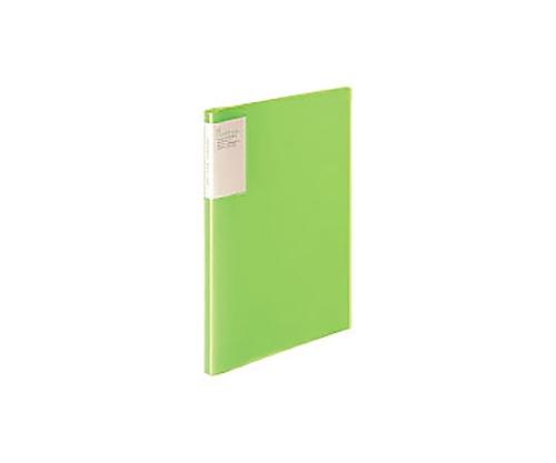クリヤーブック<キャリーオール> A4縦 固定式20枚ポケット 黄緑 ラ-5001LG