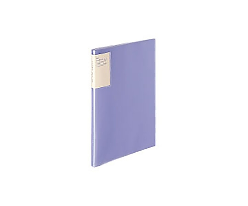 クリヤーブック<キャリーオール> A4縦 固定式20枚ポケット 紫 ラ-5001V