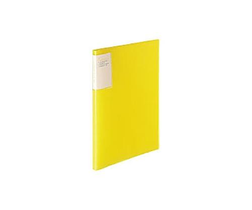 クリヤーブック<キャリーオール> A4縦 固定式20枚ポケット 黄 ラ-5001Y