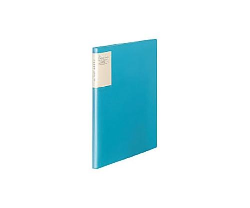 クリヤーブック<キャリーオール> A4縦 固定式10枚ポケット 青 ラ-5002B