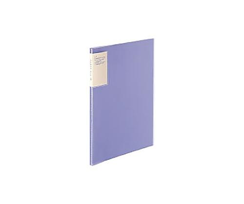 [取扱停止]クリヤーブック<キャリーオール> A4縦 固定式10枚ポケット 紫 ラ-5002V