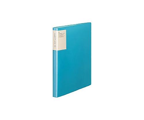 クリヤーブック<キャリーオール> A4縦 固定式40枚ポケット 青 ラ-5003B