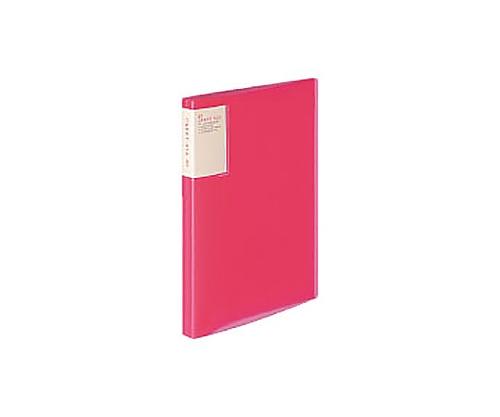 クリヤーブック<キャリーオール> A4縦 固定式40枚ポケット ピンク ラ-5003P
