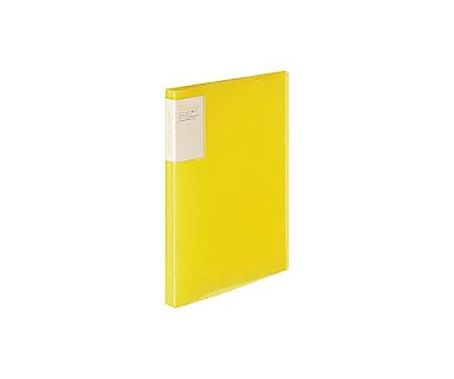 クリヤーブック<キャリーオール> A4縦 固定式40枚ポケット 黄 ラ-5003Y