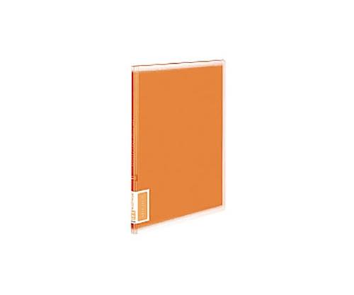 クリヤーブック<コロレー> A4縦 固定式20枚ポケット オレンジ ラ-V20YR