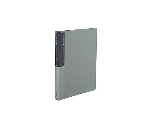 クリヤーブック<タフネス>(替紙式) A4縦 15枚ポケット30穴 グレー ラ-F720M