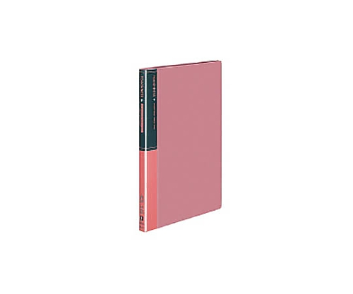 クリヤーブック<タフネス> A4縦 固定式20枚ポケット ピンク ラ-F560NP