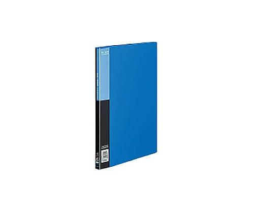 クリヤーブック<ベーシック>サイドスロー A4縦 固定式20枚ポケット 青 ラ-B220B