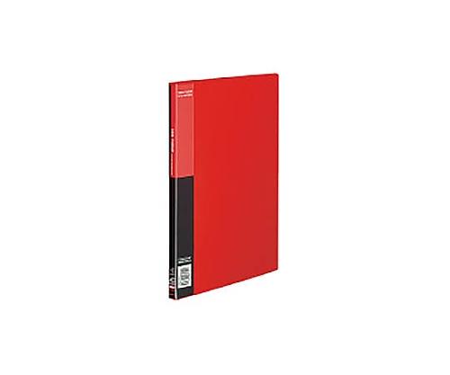クリヤーブック<ベーシック>サイドスロー A4縦 固定式20枚ポケット 赤 ラ-B220R