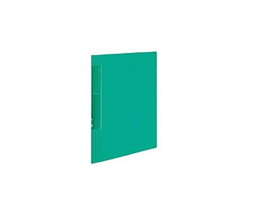 クリヤーブック<ノビータ>ウェーブカット A4縦 固定式20枚ポケット 緑 ラ-TN560G